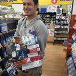 コンサル東大阪→東京せどりからの寿司→ゲームバー