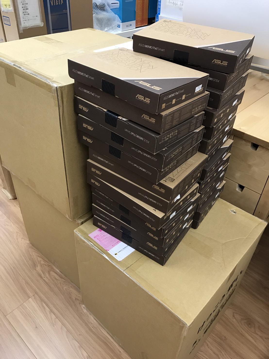 せどりコンサル同行でタブレット100台仕入れ